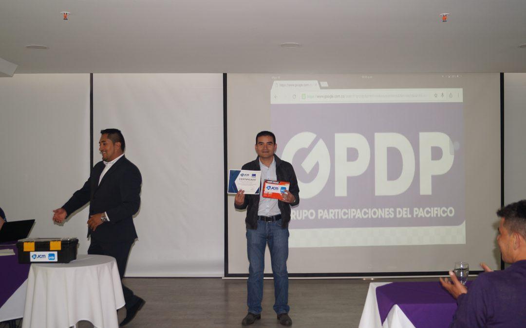 Capacitación JCM con PDP – 2016